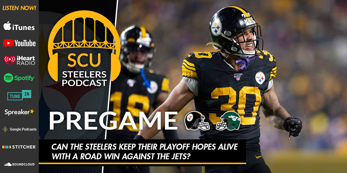 Can the Steelers keep their playoff hopes alive with a road win against the Jets?