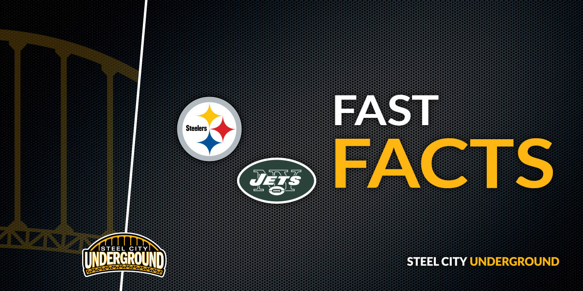 Steelers vs. Jets Fast Facts
