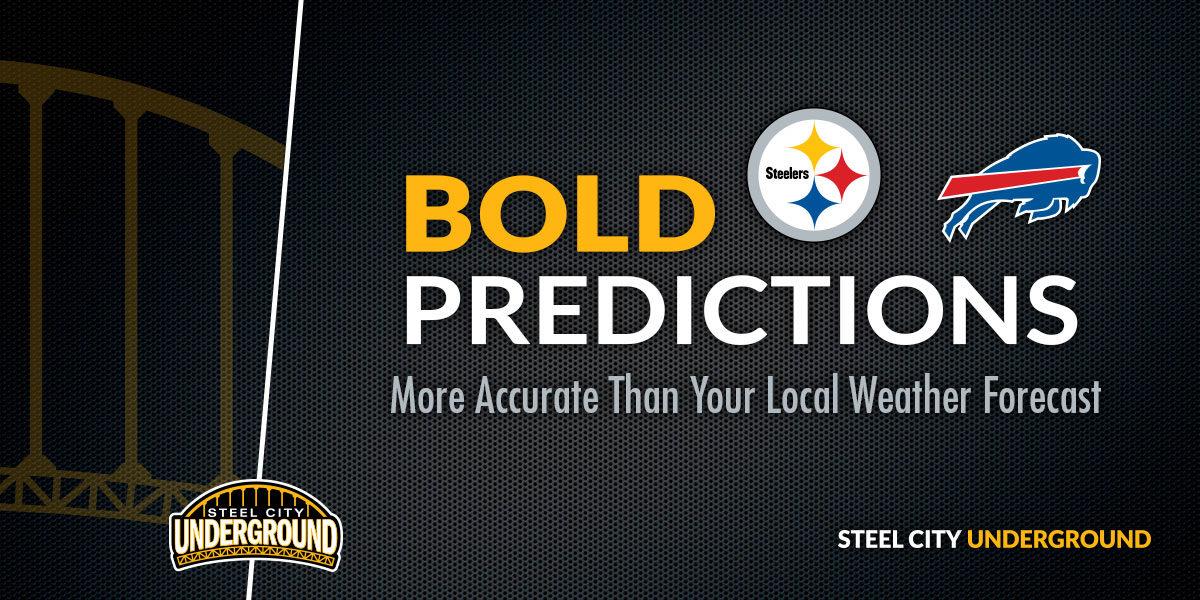 Steelers vs. Bills Bold Predictions