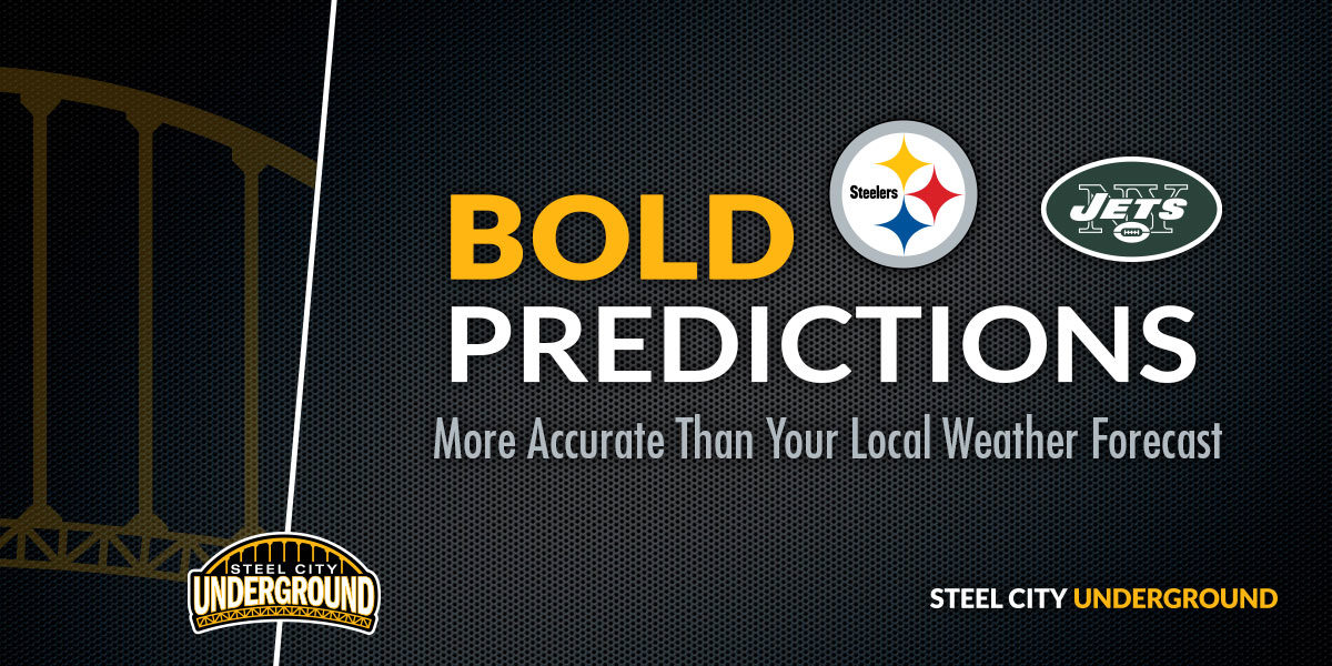 Steelers vs. Jets Bold Predictions