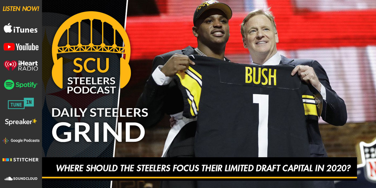 Where should the Steelers focus their limited draft capital in 2020?
