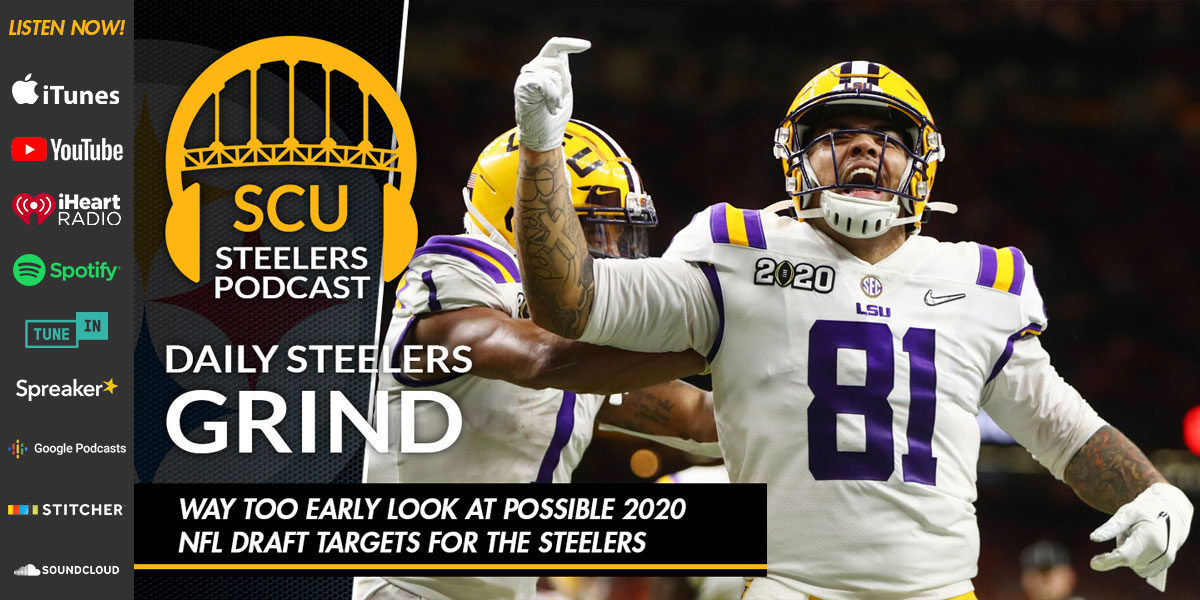 Way too early look at possible 2020 NFL Draft targets for the Steelers