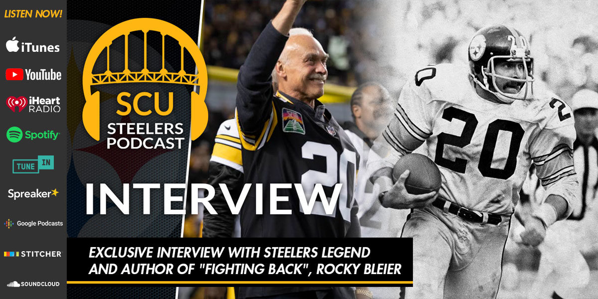 "Exclusive Interview with Steelers Legend and Author of ""Fighting Back"" Rocky Bleier"