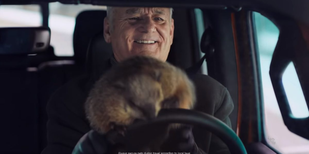Bill Murray Groundhog Day Jeep Commercial