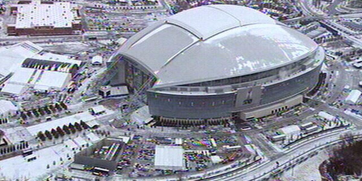 Dallas Cowboys Stadium during Super Bowl XLV