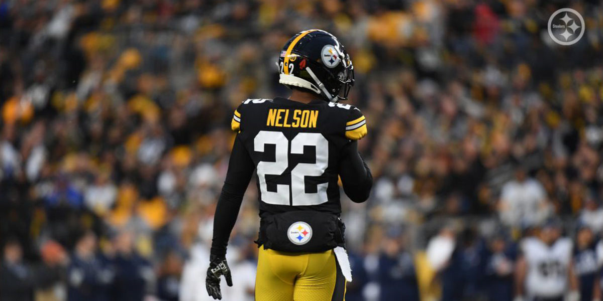 Pittsburgh Steelers CB Steven Nelson