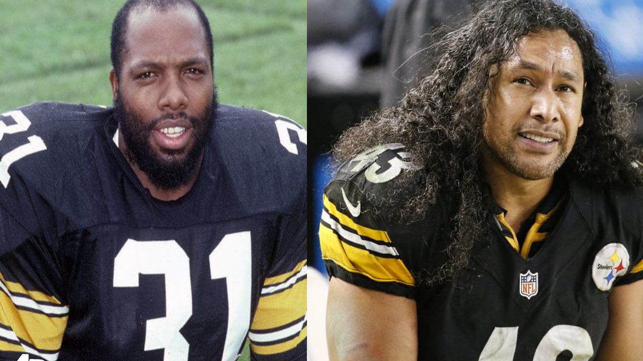 Pittsburgh Steelers safeties Donnie Shell and Troy Polamalu (AP File)