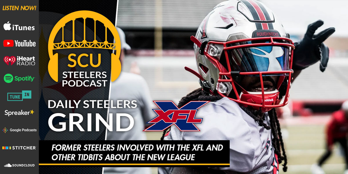 Former Steelers involved with the XFL and other tidbits about the new league