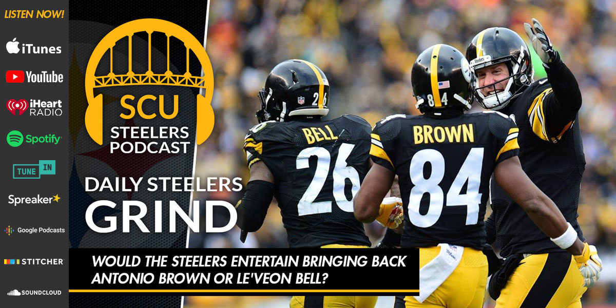 Would the Steelers entertain bringing back Antonio Brown or Le'Veon Bell?