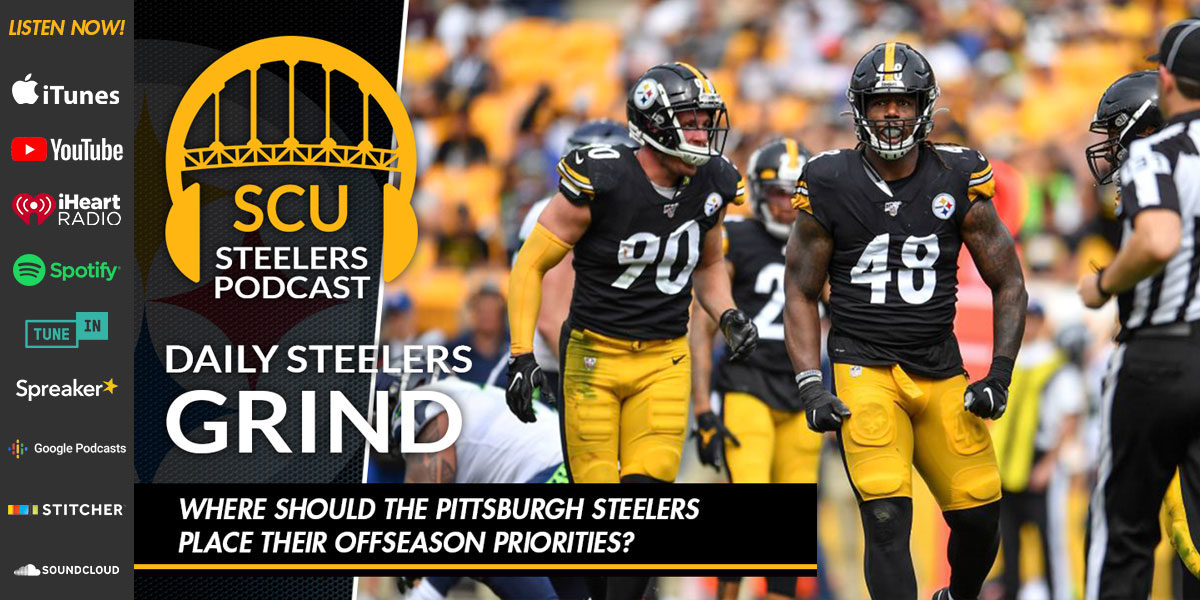 Where should the Pittsburgh Steelers place their offseason priorities?