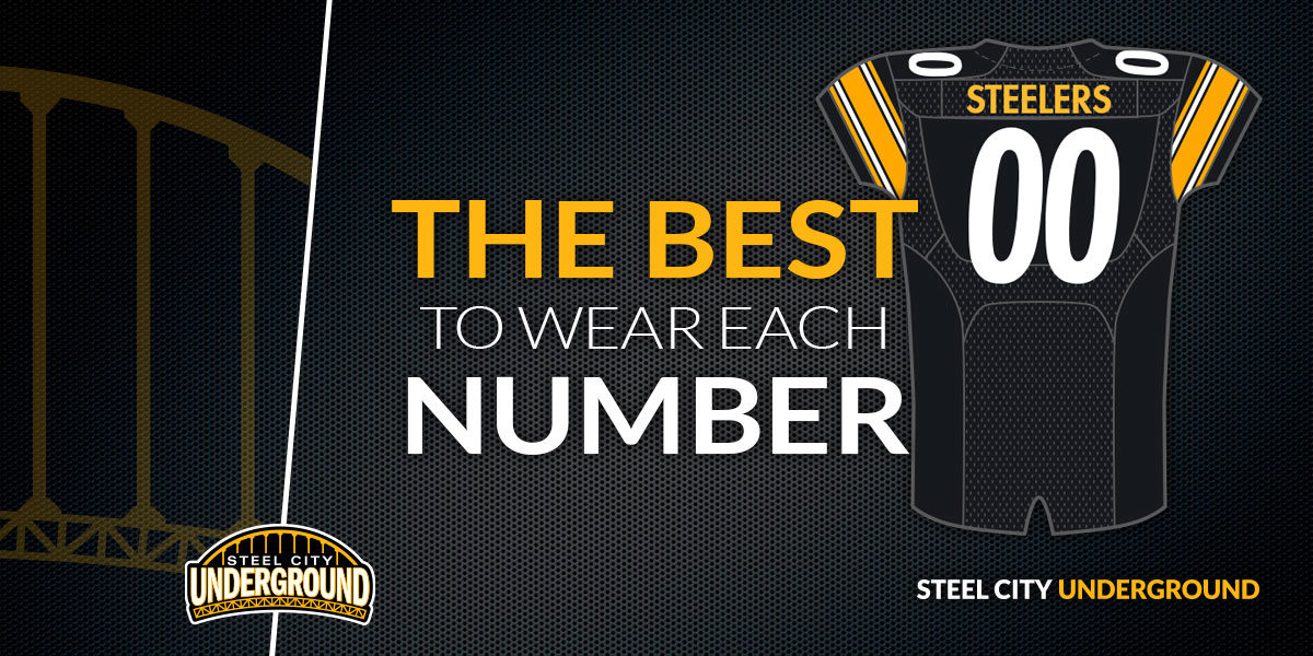 The best Steelers players to wear each jersey number