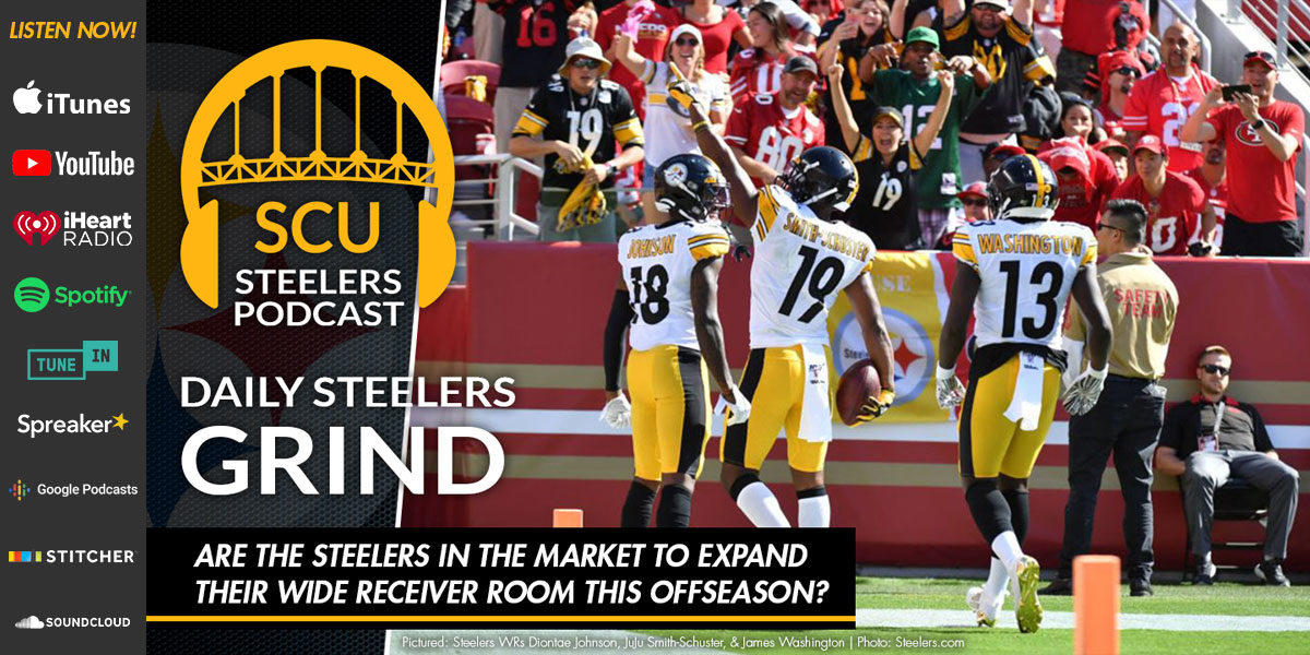 Are the Steelers in the market to expand their wide receiver room this offseason?