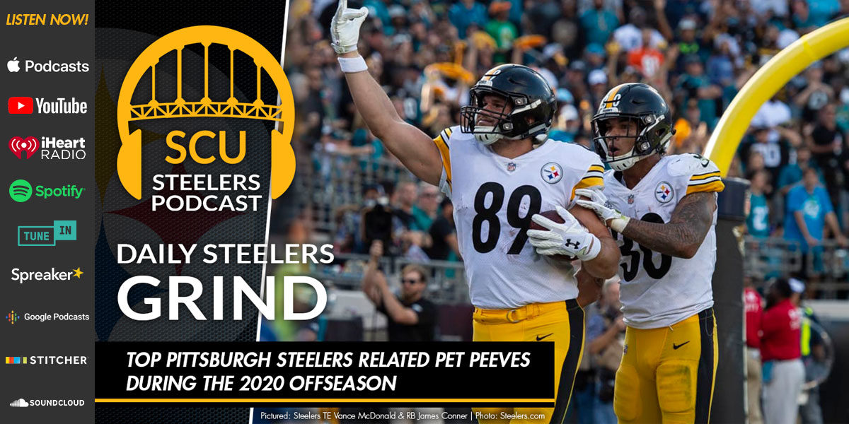 Top Pittsburgh Steelers related pet peeves during the 2020 offseason