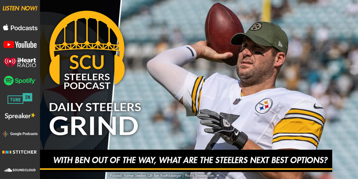 With Ben out of the way, what are the Steelers next best options?