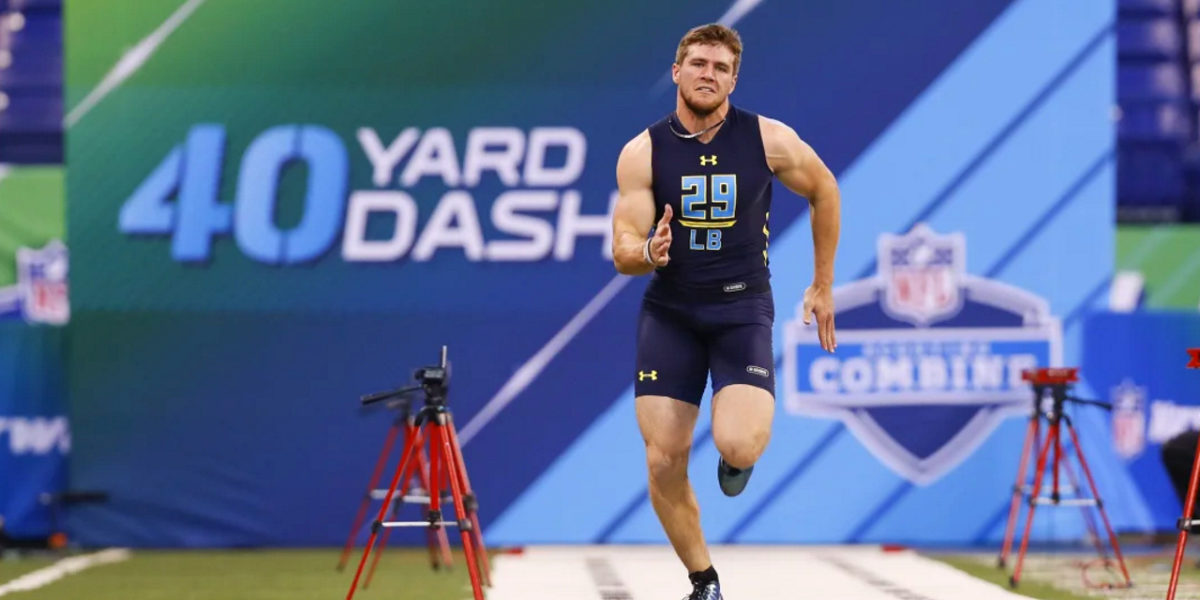 Pittsburgh Steelers linebacker T.J. Watt at the NFL Scouting Combine (AP via Steelers.com)