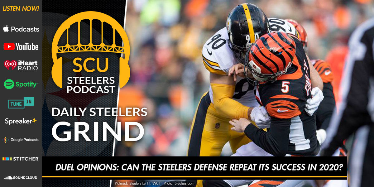 Duel Opinions: Can the Steelers defense repeat its success in 2020?