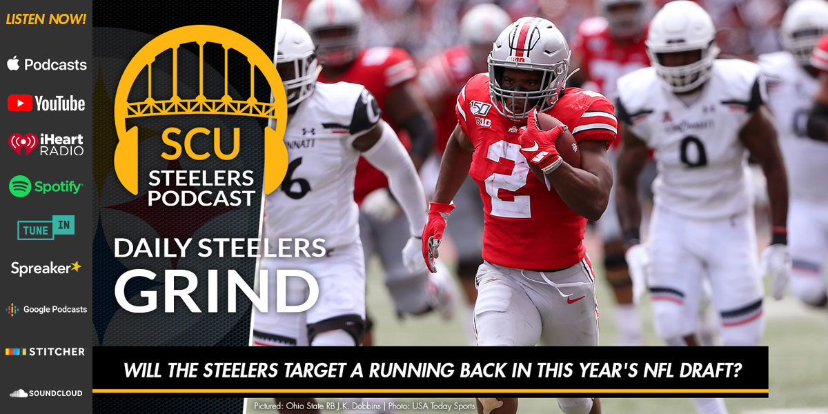 Will the Steelers target a running back in this year's NFL Draft?