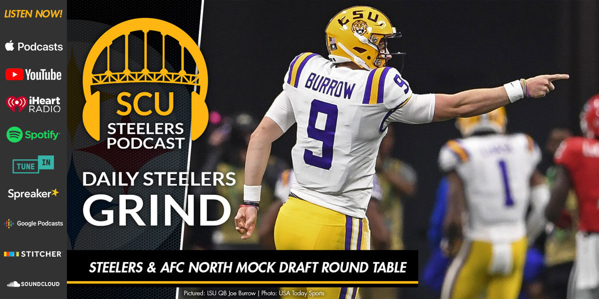 Steelers & AFC North mock draft round table