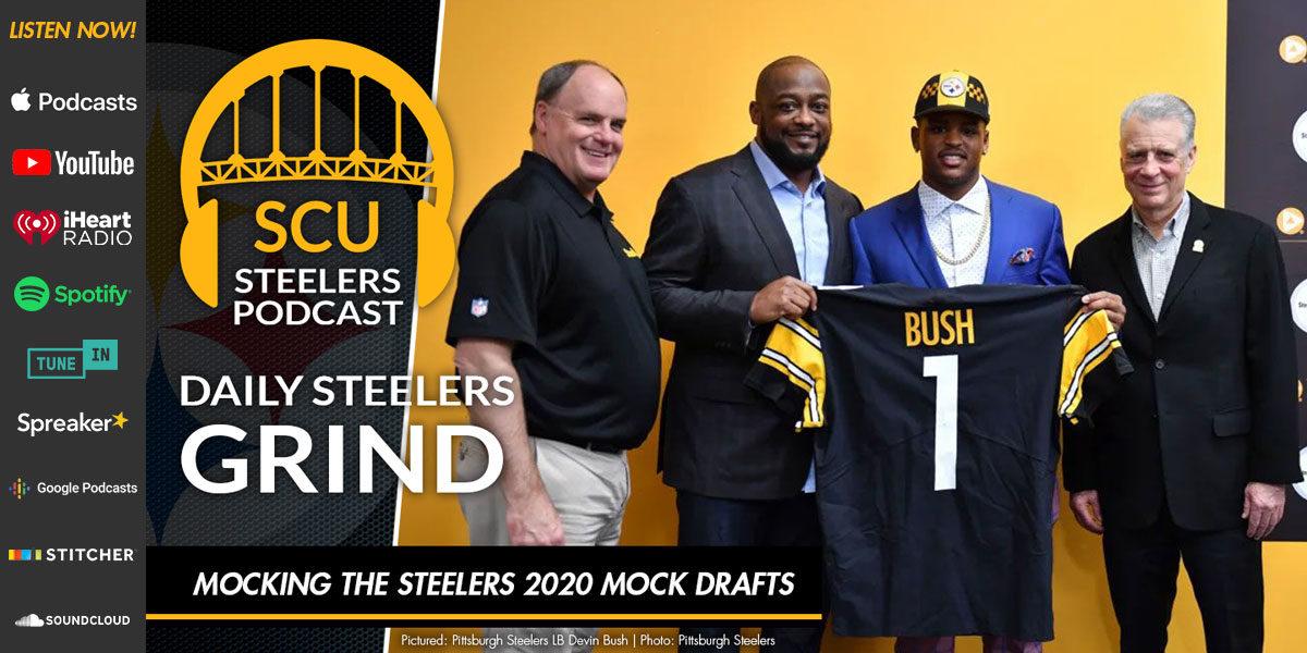 Mocking the Steelers 2020 Mock Drafts