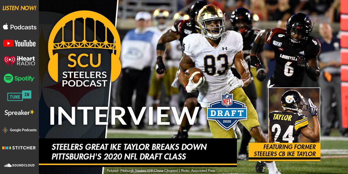 Steelers great Ike Taylor breaks down Pittsburgh's 2020 NFL Draft class