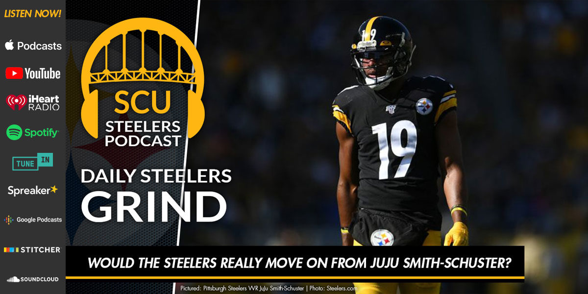 Would the Steelers really move on from JuJu Smith-Schuster?