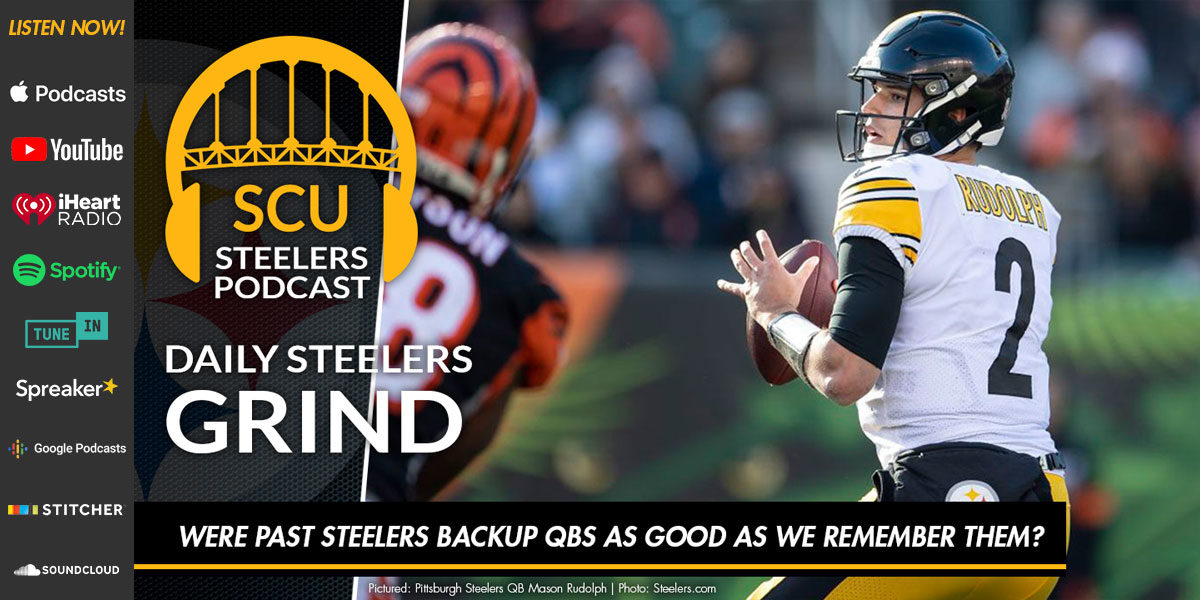 Were past Steelers backup QBs as good as we remember them?
