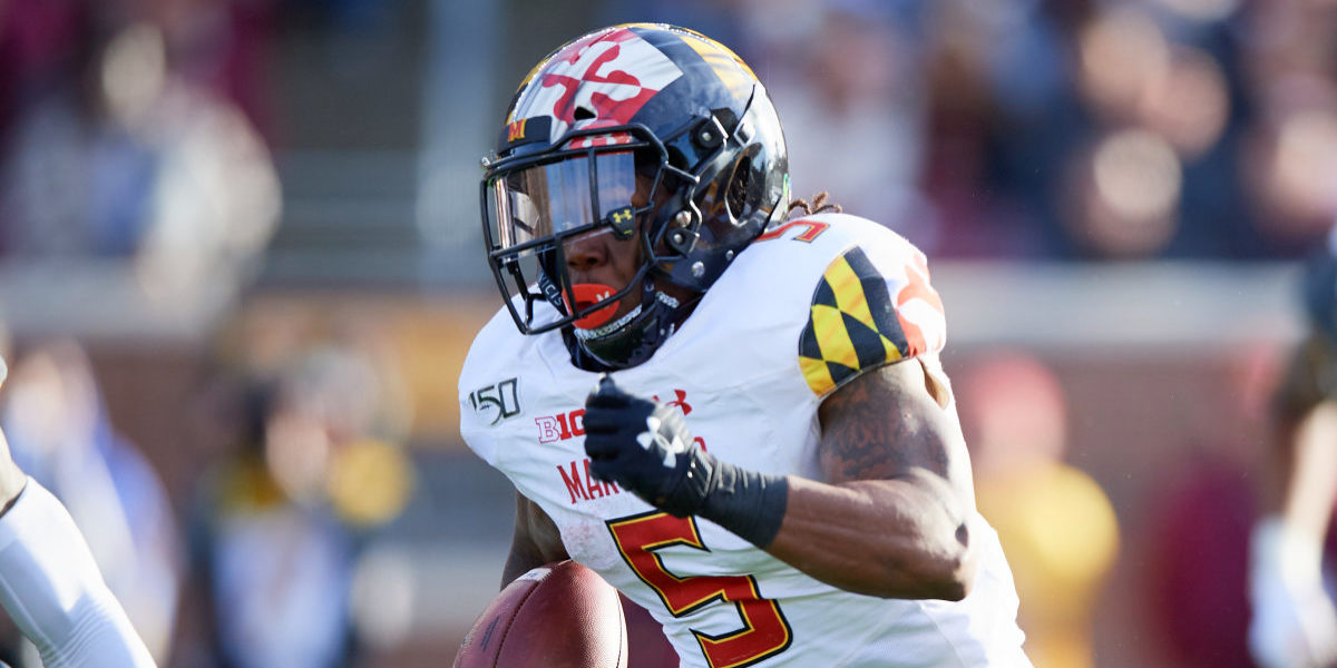Running back Anthony McFarland Jr was selected by the Pittsburgh Steelers out of the University of Maryland in the 2020 NFL Draft