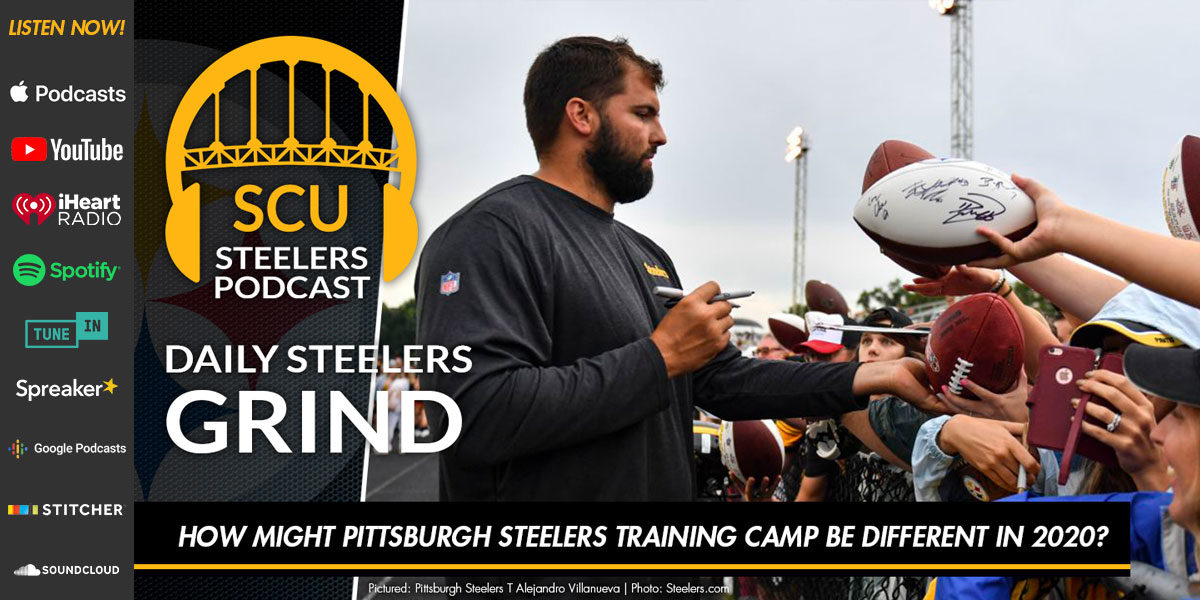 How might Pittsburgh Steelers training camp be different in 2020?