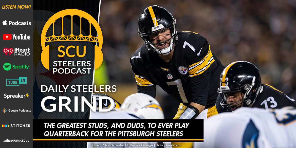 The greatest studs, and duds, to ever play quarterback for the Pittsburgh Steelers