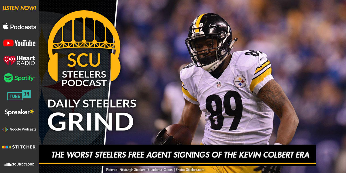 The worst Steelers free agent signings of the Kevin Colbert era