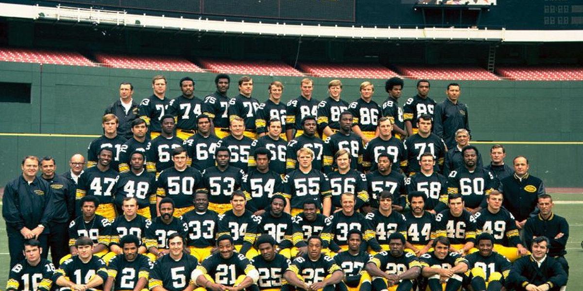1970 Pittsburgh Steelers team photo