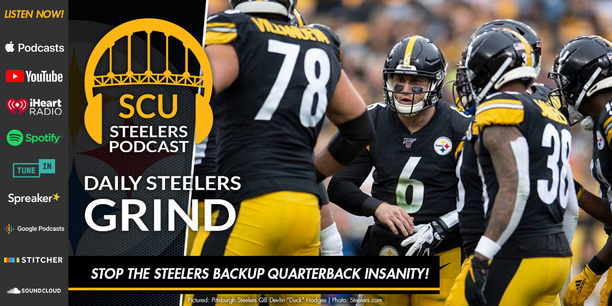 Stop the Steelers backup quarterback insanity!