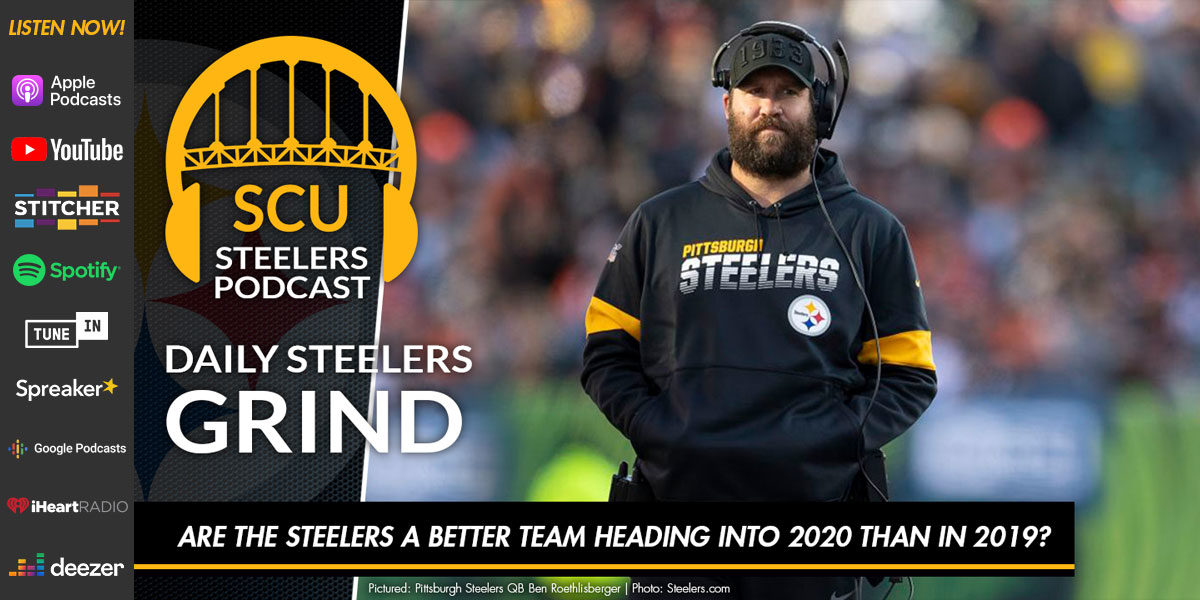 Are the Steelers a better team heading into 2020 than in 2019?