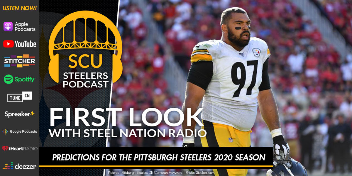 Predicitions for the Pittsburgh Steelers 2020 season