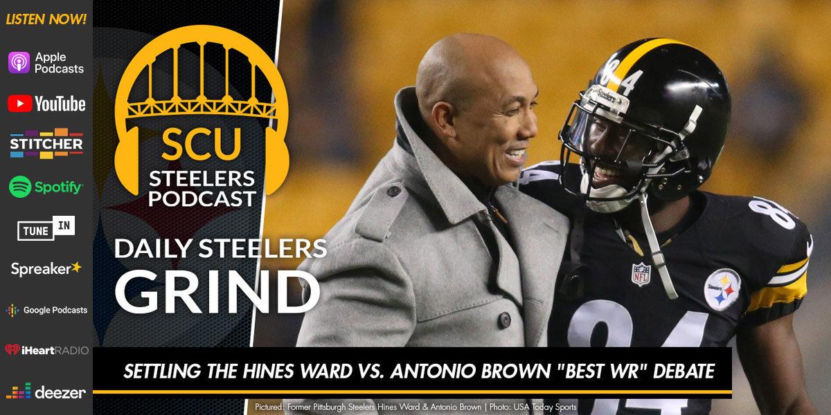 """Settling the Hines Ward vs. Antonio Brown """"best WR"""" debate"""