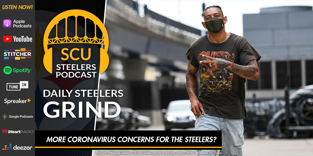More coronavirus concerns for the Steelers?