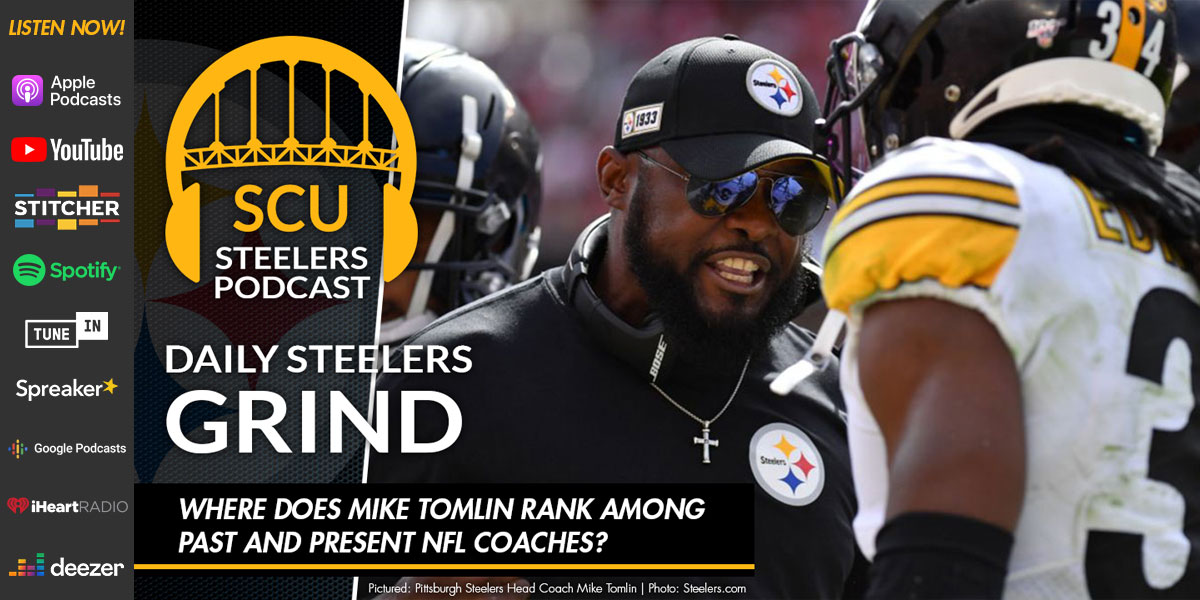 Where does Mike Tomlin rank among past and present NFL coaches?