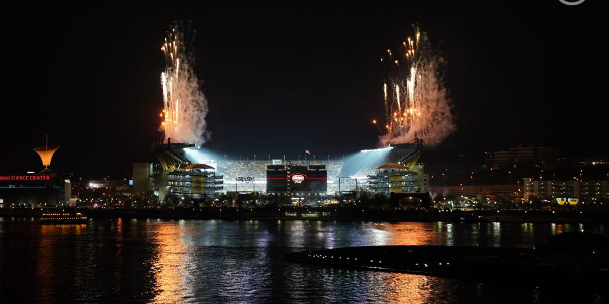 Heinz Field at night 2020