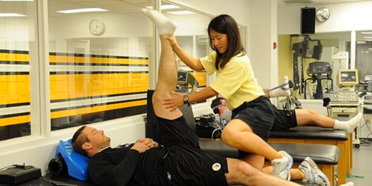 Ariko Iso is the athletic trainer for the Pittsburgh Steelers