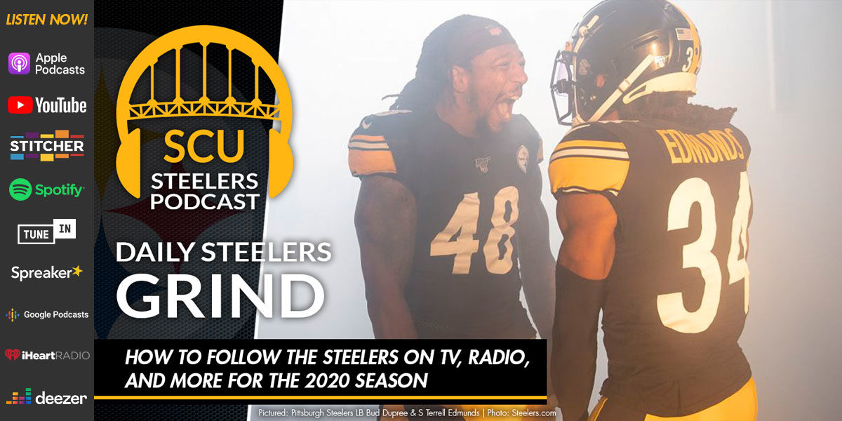 How to follow the Steelers on TV, radio, and more for the 2020 season