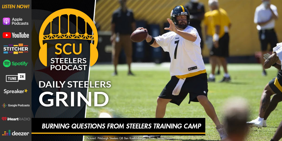 Burning questions from Steelers training camp
