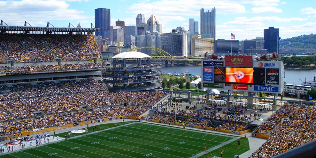 Heinz Field in Pittsburgh, Pennsylvania (wikicommons/cclosky)