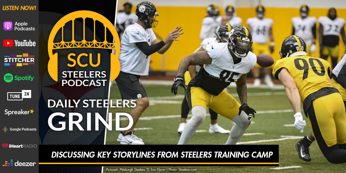 Discussing key storylines from Steelers training camp