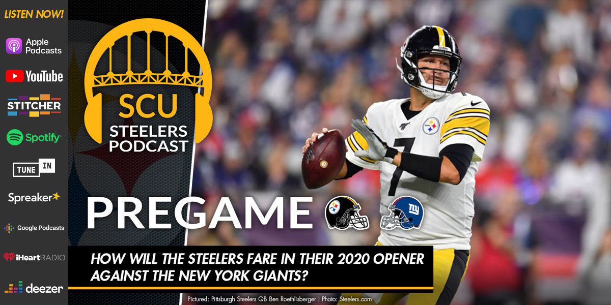 How will the Steelers fare in their 2020 opener against the New York Giants?