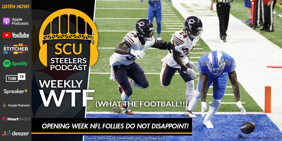 Weekly WTF: Opening week NFL follies do not disappoint!