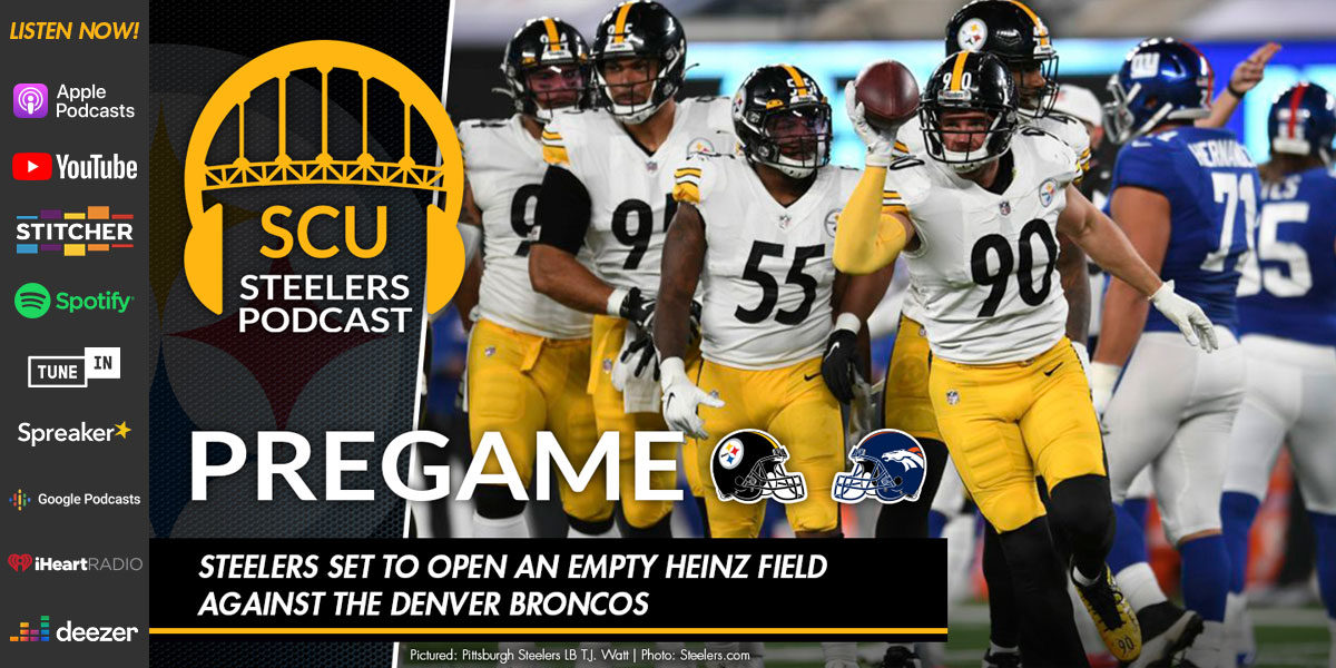 Steelers set to open an empty Heinz Field against the Denver Broncos