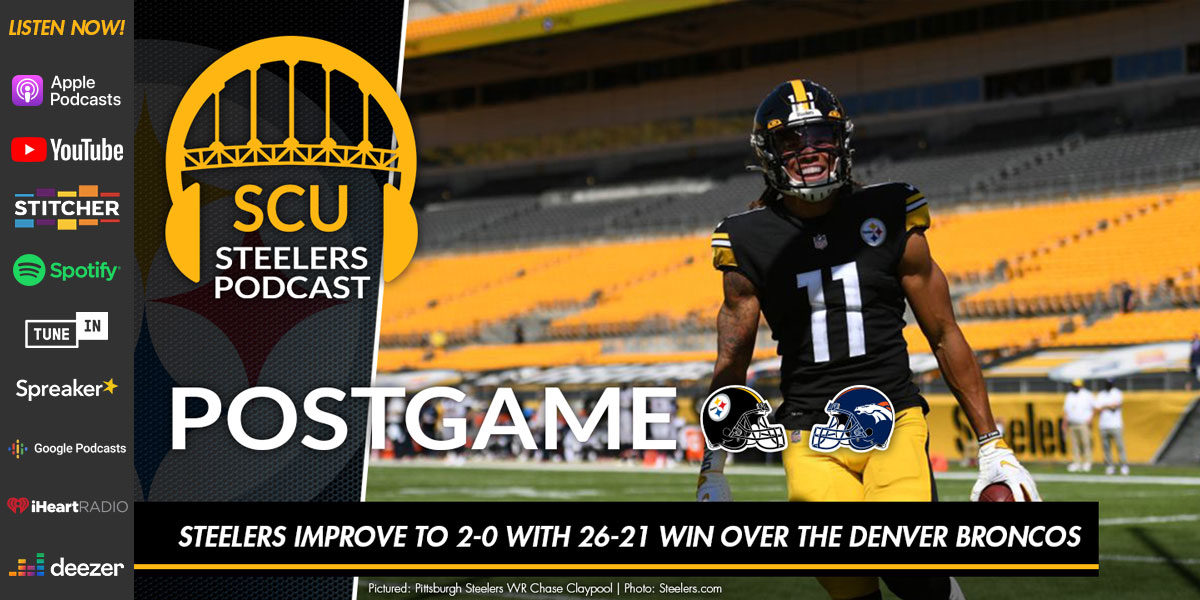 Steelers improve to 2-0 with 26-21 win over the Denver Broncos