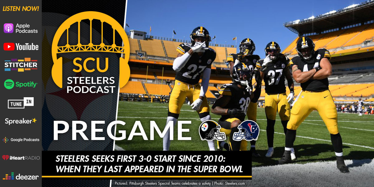 Steelers seeks first 3-0 start since 2010: when they last appeared in the Super Bowl