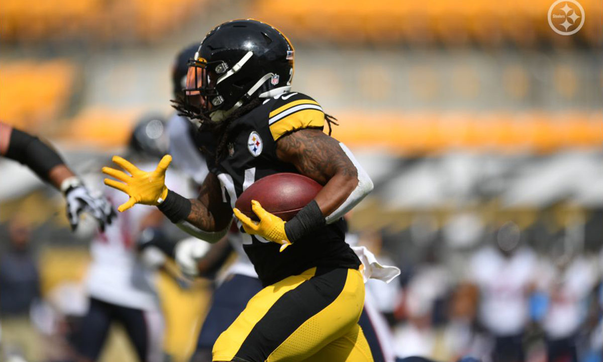 Pittsburgh Steelers RB Anthony McFarland