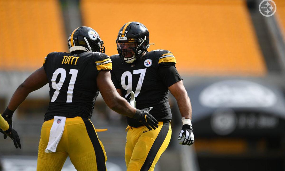 Pittsburgh Steelers Stephon Tuitt and Cameron Heyward